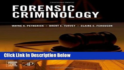 Download Forensic Criminology Online Books Video Dailymotion
