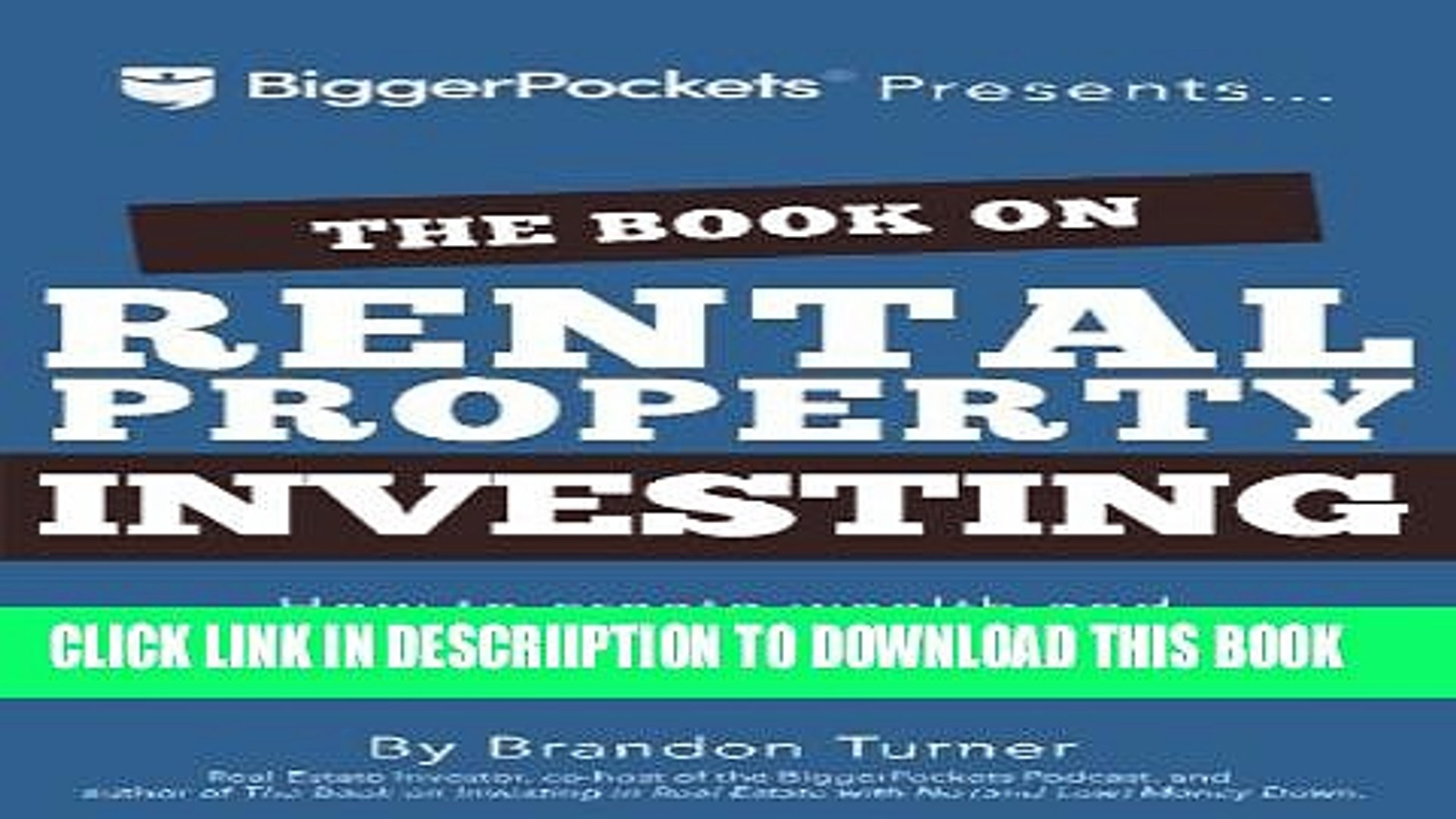 [PDF] The Book on Rental Property Investing: How to Create Wealth and Passive Income Through