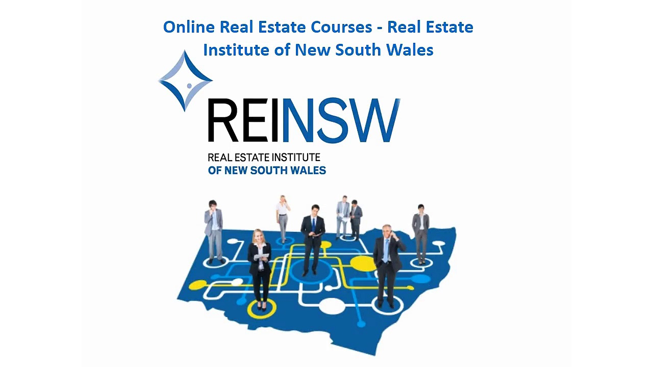 Online Real Estate Courses – Real Estate Institute of New South Wales