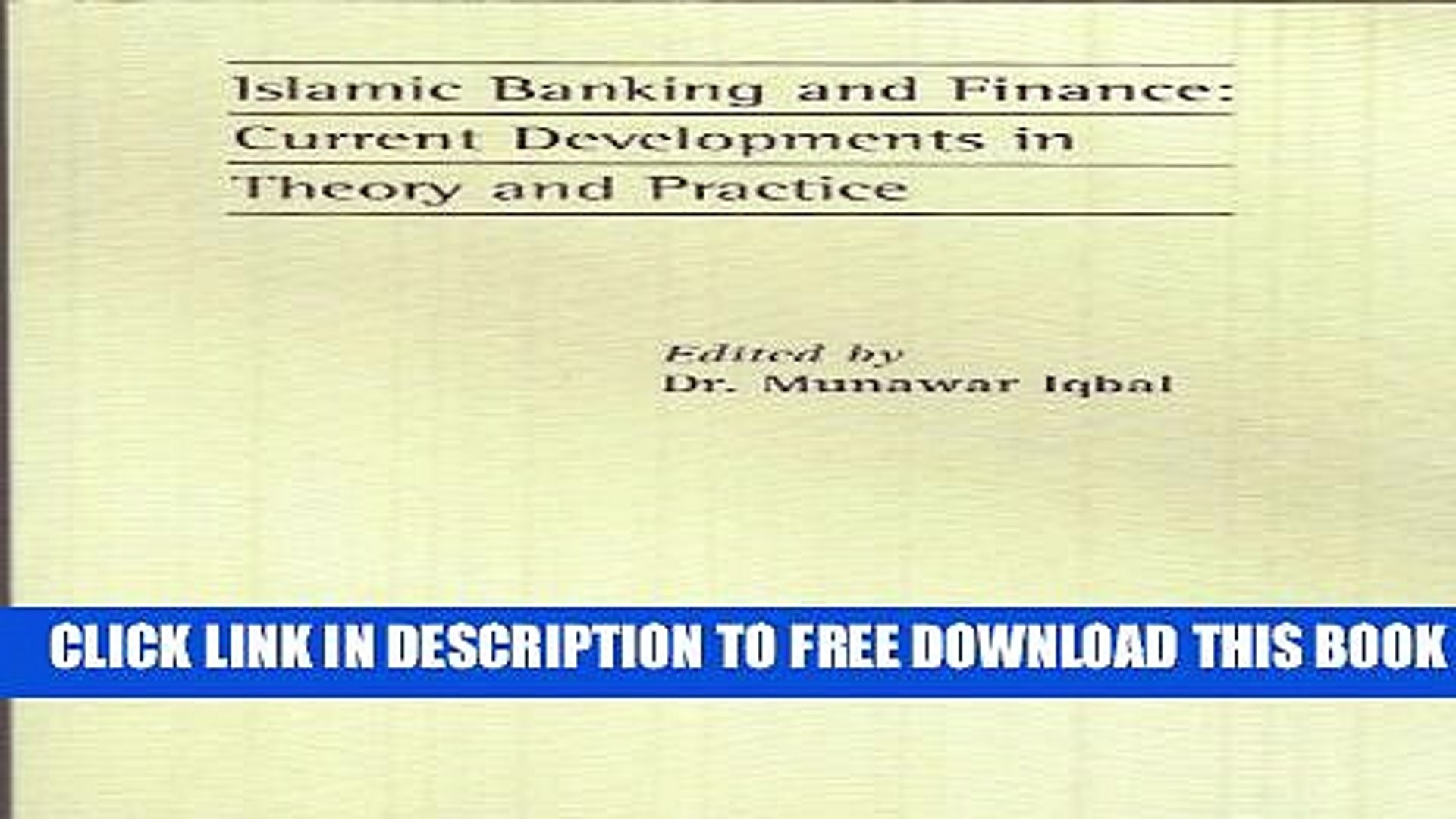 [PDF] Islamic Banking and Finance: Current Developments in Theory and Practice Popular Online