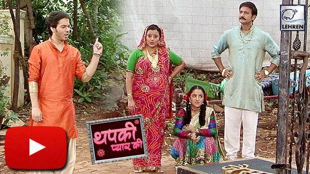 Bihaan Throws OUT Kosi And Shankari From House | Thapki Pyar Ki | On Location