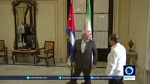 Iran's FM: Iran, Cuba never surrendered to US sanctions