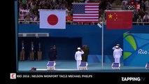 JO 2016 : Nelson Monfort pousse un coup de gueule contre Michael Phelps et son comportement (Vidéo)