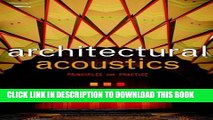 [PDF] Architectural Acoustics: Principles and Practice Popular Online