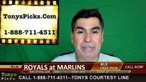 Miami Marlins vs. Kansas City Royals Free Pick Prediction MLB Baseball Odds Series Preview