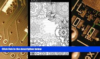 Big Deals  Coloring Journal (black): Therapeutic journal for writing, journaling, and note-taking