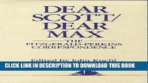 [PDF] Dear Scott/Dear Max (Hudson River Editions) Full Online