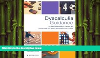 Free [PDF] Downlaod  Dyscalculia Guidance: Helping Pupils with Specific Learning Difficulties in