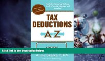 Big Deals  Tax Deductions A to Z for Artists (Tax Deductions A to Z series)  Free Full Read Best