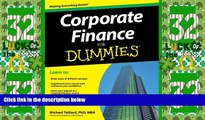 Big Deals  Corporate Finance For Dummies  Best Seller Books Most Wanted