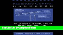 Download Moisture Control Handbook: Principles and Practices for Residential and Small Commercial