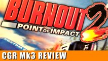Classic Game Room - BURNOUT 2: POINT OF IMPACT review for Xbox