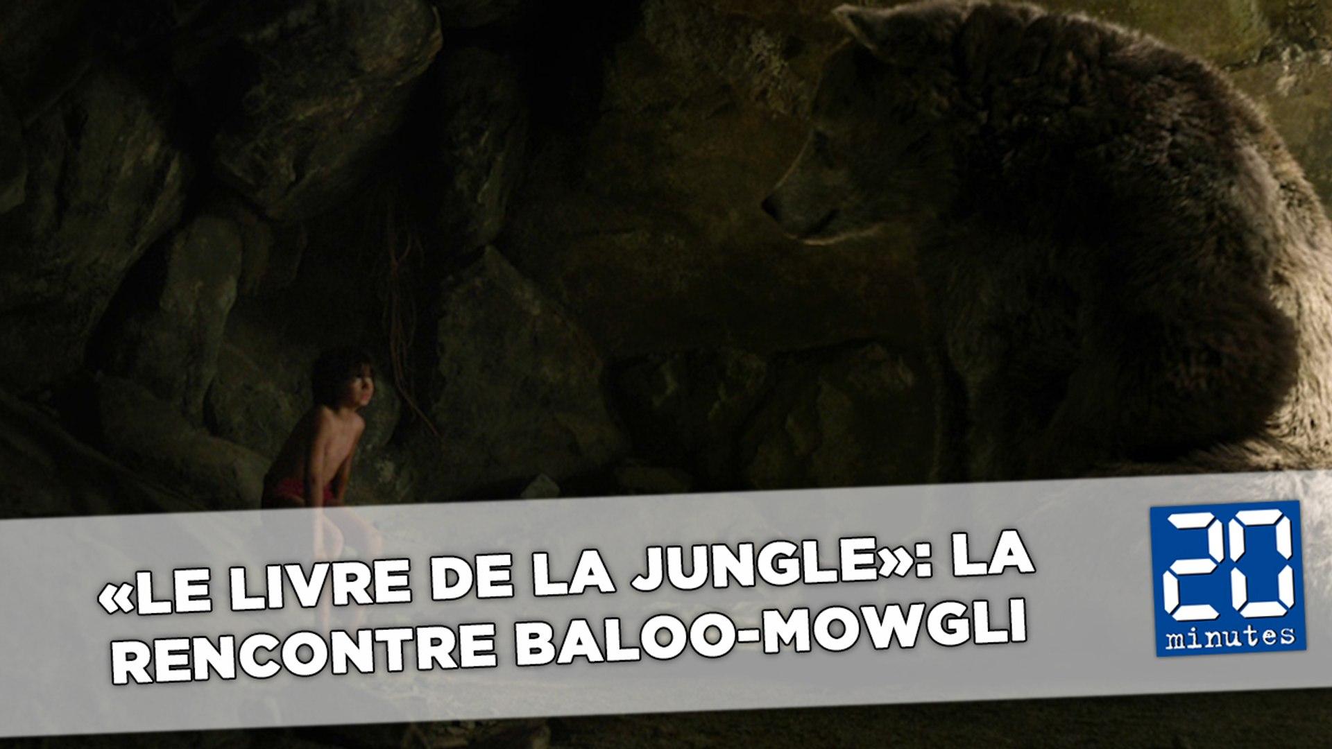 Le Livre De La Jungle La Rencontre Entre Baloo Et Mowgli