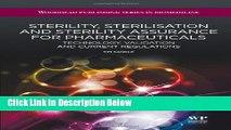 [PDF] Sterility, Sterilisation and Sterility Assurance for Pharmaceuticals: Technology, Validation
