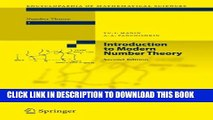 [Read PDF] Introduction to Modern Number Theory: Fundamental Problems, Ideas and Theories