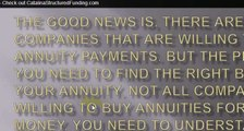 Sell Annuity Payment | Structures Annuity Settlement 2016