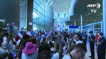 Rio-2016: les sportifs français de retour de Rio