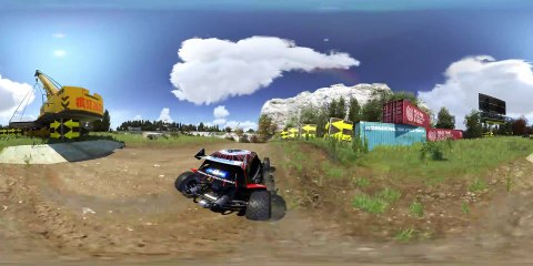 360° Demo Valley Down and Dirty de Trackmania : Turbo
