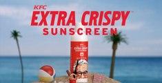KFC invente une crème solaire qui sent le poulet (vidéo)