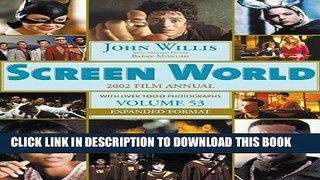 Collection Book Screen World Volume 53 2002