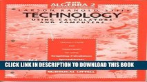 [PDF] Technology: Using Calculators and Computers (Heath Algebra 2: An Integrated Approach)