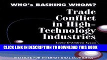 [PDF] Who s Bashing Whom: Trade Conflict in High Technology Industries Popular Online