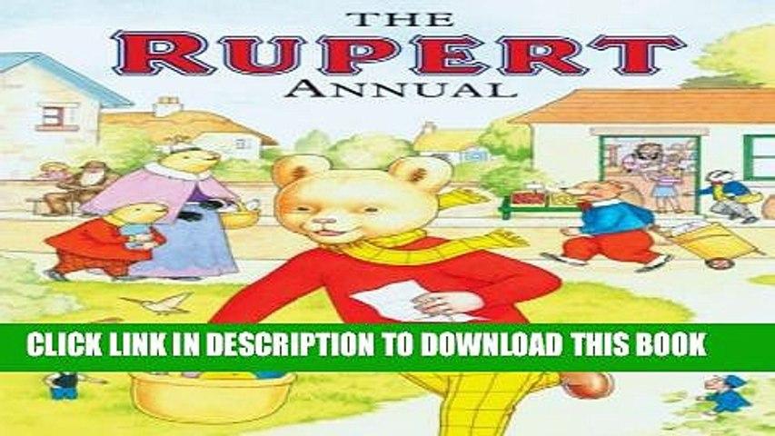 New Book Rupert Bear Annual (No. 72 / 2008)