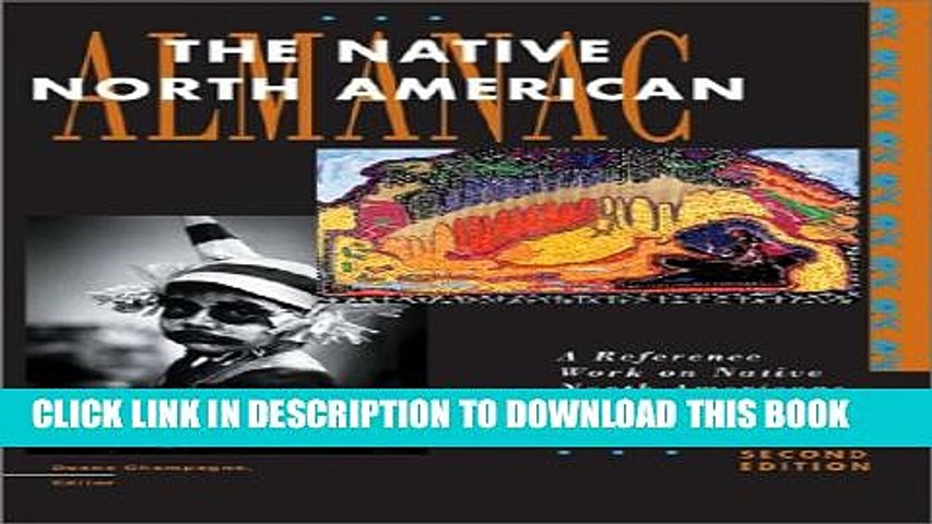 Collection Book The Native North American Almanac, 2nd Edition