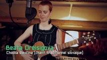 belle et bonne musique slovaque, chanteuses et musiciens au diapason, puissance et subtilité intensément