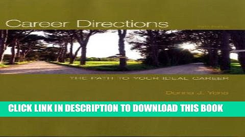 New Book Career Directions: The Path to Your Ideal Career