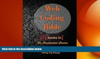 READ book  Web Coding Bible (18 Books in 1 -- HTML, CSS, Javascript, PHP, SQL, XML, SVG, Canvas,