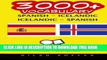 [PDF] 3000+ Spanish - Icelandic Icelandic - Spanish Vocabulary Popular Online