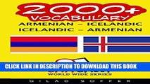 [PDF] 2000+ Armenian - Icelandic Icelandic - Armenian Vocabulary Popular Colection