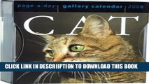 [New] Cat Page-A-Day Gallery Calendar 2008 Exclusive Online