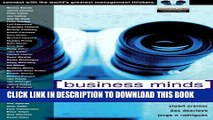 New Book Business Minds: Management Wisdom, Direct from the World s Greatest Thinkers