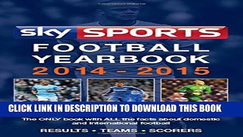 New Book Sky Sports Football Yearbook 2014-2015