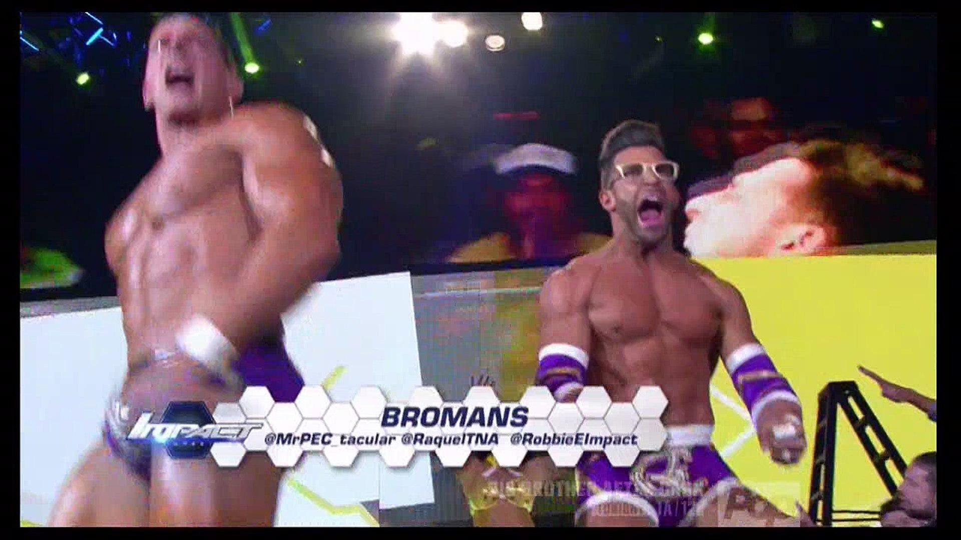 The Broken Hardys vs. The BroMans (w/ Raquel) vs. The Helms Dynasty vs. The Tribunal