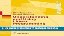 Collection Book Understanding and Using Linear Programming