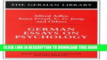 [PDF] German Essays on Psychology: Alfred Adler, Anna Freud, C.G. Jung, and Others Popular Colection