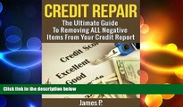 FREE PDF  Credit Repair: The Ultimate Guide To Removing ALL Negative Items From Your Credit Report