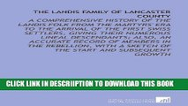 [PDF] The Landis Family of Lancaster County: A Comprehensive History of the Landis Folk From the