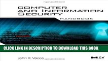 New Book Computer and Information Security Handbook (Morgan Kaufmann Series in Computer Security)