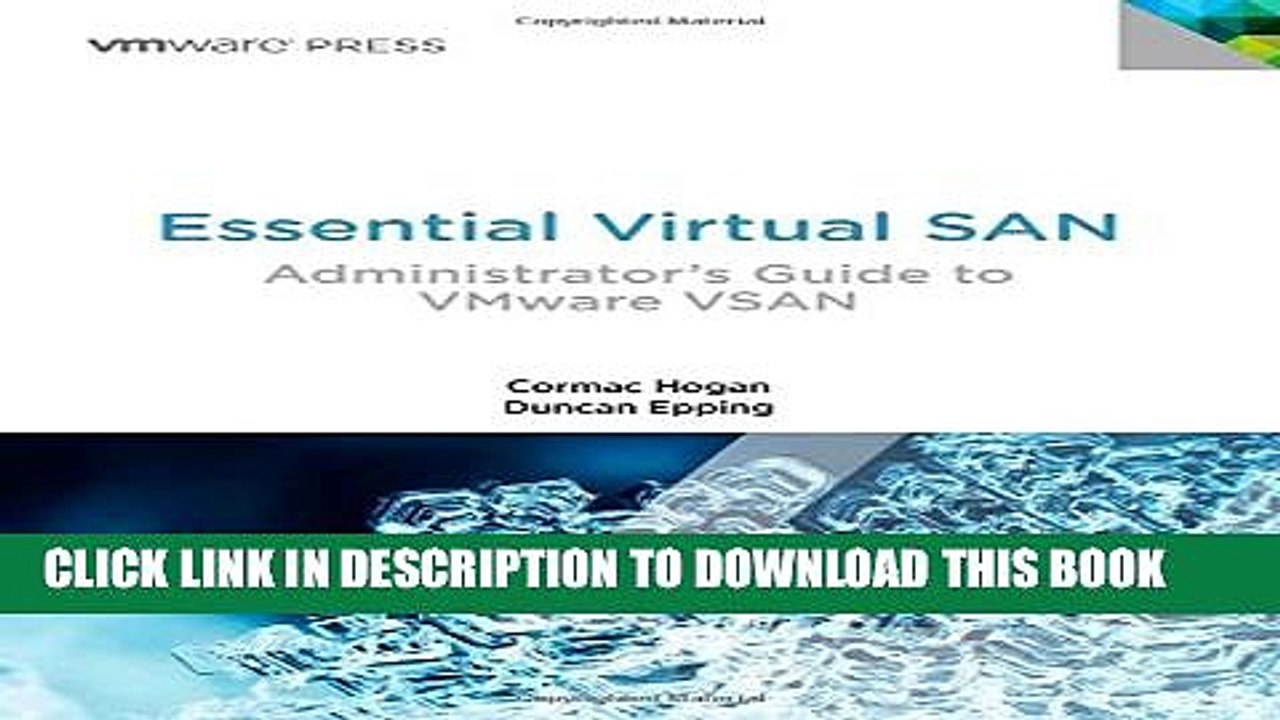 Collection Book Essential Virtual SAN (VSAN): Administrator s Guide to  VMware Virtual SAN (VMware