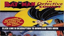 [PDF] Batman in Detective Comics: Featuring the Complete Covers of the First 25 Years Full Online
