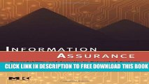 New Book Information Assurance: Dependability and Security in Networked Systems (The Morgan