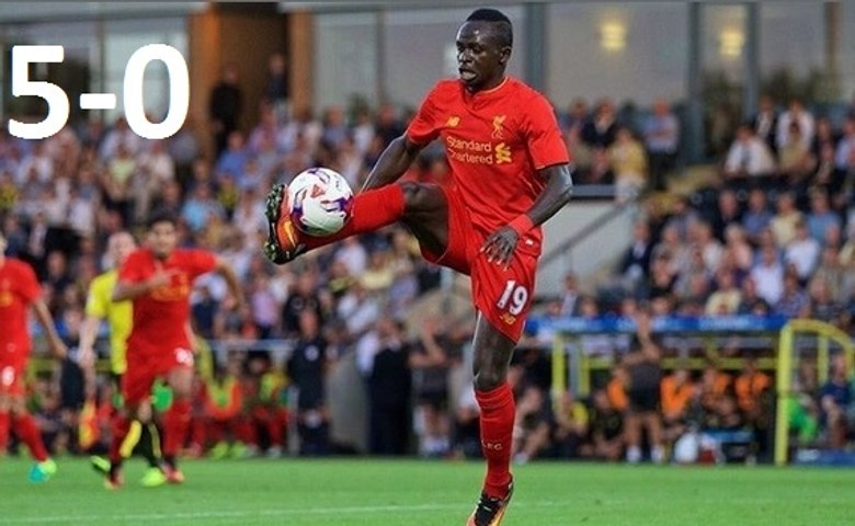 Liverpool vs Burton Albion 5-0 - EFL Cup 2016 - All Goals & Full Highlights HD