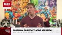 Pokemon Go Update Adds Pokemon Appraisal, a Feature for Learning Hidden Stats