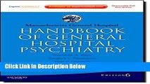 [Get] Massachusetts General Hospital Handbook of General Hospital Psychiatry: Expert Consult -