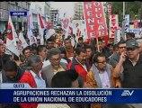 Organizaciones sindicales se movilizarán este jueves contra el Gobierno