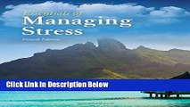 [Best Seller] Essentials Of Managing Stress New Reads